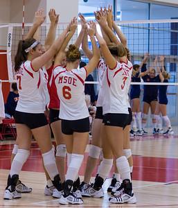 2007-10-06 MSOE Women's Volleyball vs. Carroll (0-3 L)