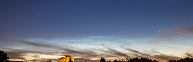 Noctilucent clouds, 2016-06-24