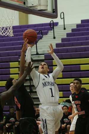Boy Basketball vs Woodbridge Barons, Feb 5 2015