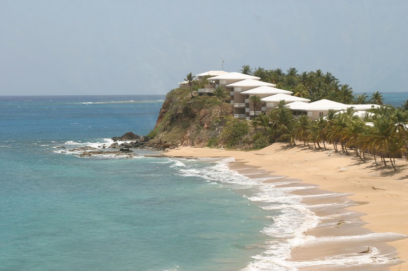 A resort on the southwest side of Antigua.