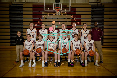 DHS Boys JV  Basketball 2017