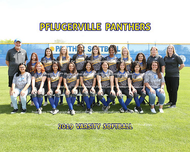 2019 Panther Softball
