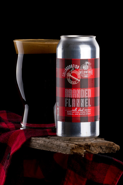 Weldwerks & Mikerphone Brewing: Branded Flannel