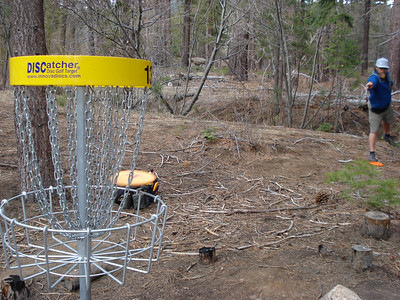 Disc Golf - North Tahoe Lion's DGC 04-18-2012