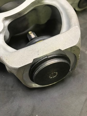 NSX lower balljoint replacement