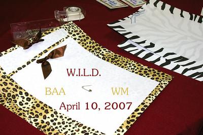 W.I.L.D.  -April 10, 2007