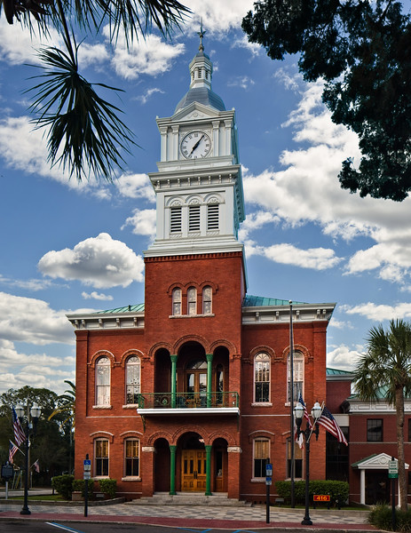 Historic Courthouse, built in 1891.
