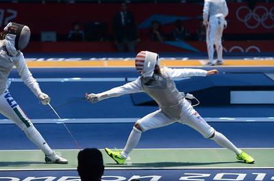 Lee vs Arianna Errigo Olympics 2012