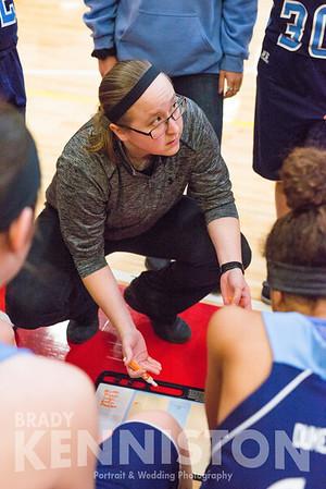 1-25-18 Garber Girls JV & Varsity Basketball