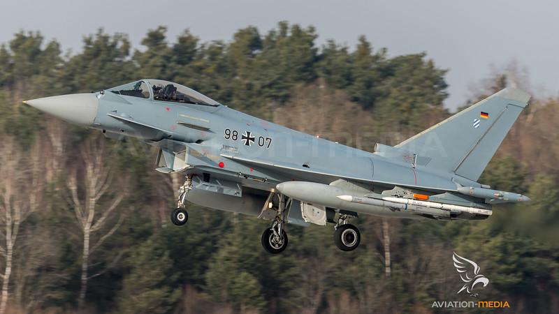 German Air Force WTD 61 / Eurofighter Typhoon / 98+07