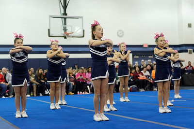 2015-10-17 - Franklin Chargers C Squad - Cheer for a Cure