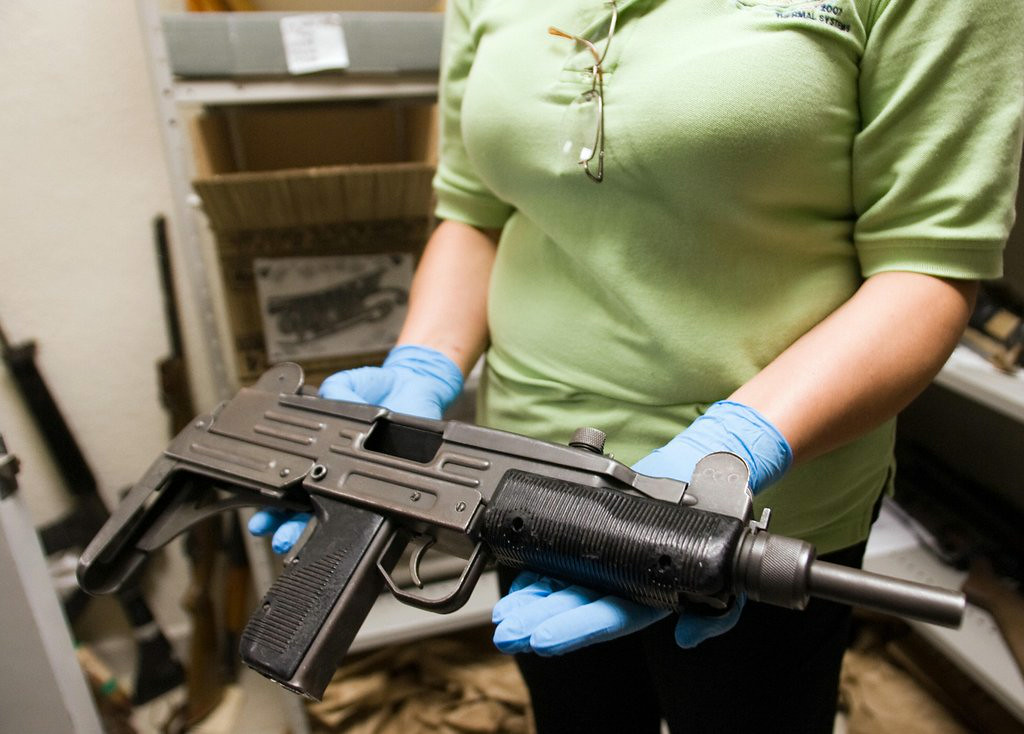 """. 5. MACHINE GUNS <p>If you ban them for children, then only criminal children will have them. (2) </p><p><b><a href=\""""http://www.cnn.com/2014/08/26/us/arizona-girl-fatal-shooting-accident/index.html\"""" target=\""""_blank\""""> LINK </a></b> </p><p>   (Alfredo Estrella/AFP/Getty Images)</p>"""