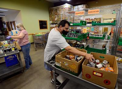 Photos: Sister Carmen Center Preps for Food Distribution