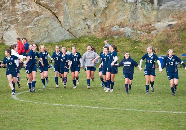 11/12/08 - Qtr Finals - Nobles Girls Varsity Soccer vs Westminster