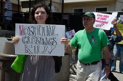Downstate Workers Say NO! to Layoffs