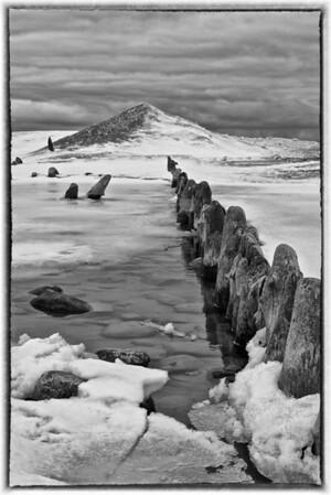 Saugatuck Harbor in the Winter #2