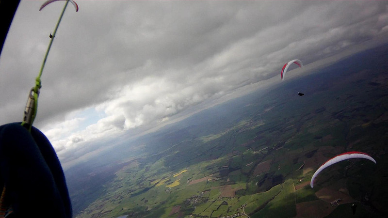 Thermaling to base at now 5600'. Near Bedale.