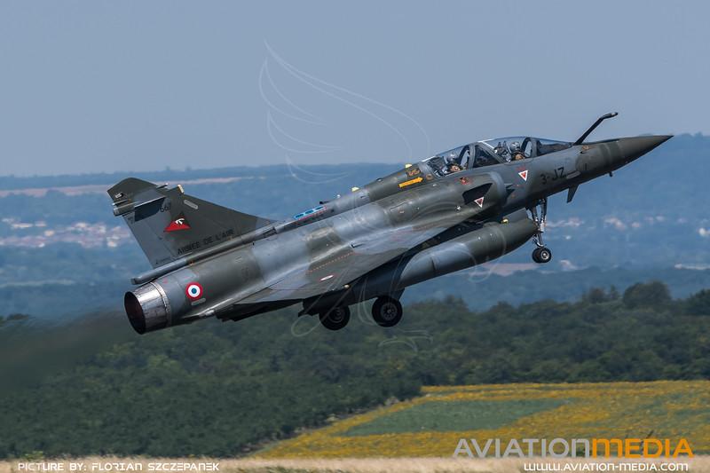 French Air Force EC2-3 / Dassault Mirage 2000D / 667 3-JZ