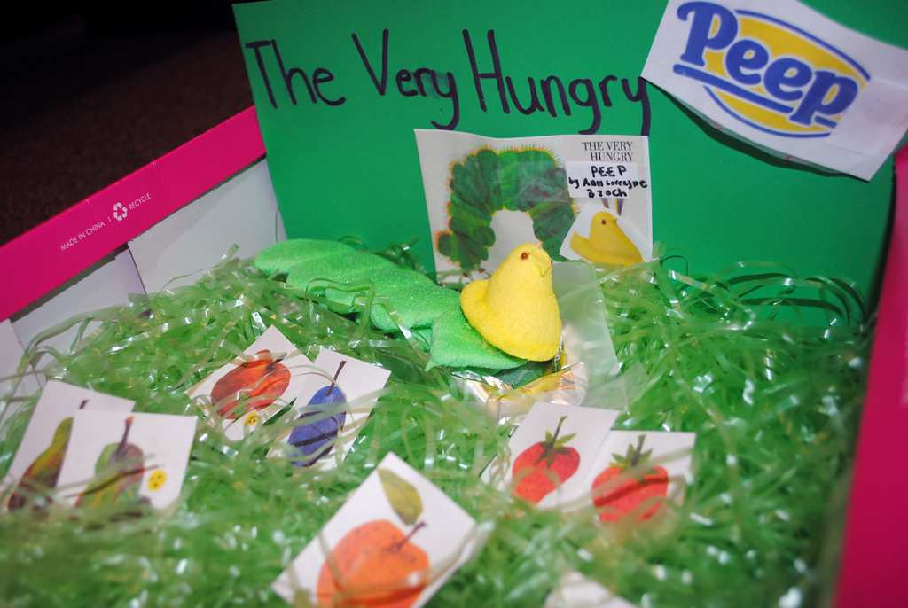 ". \""The Very Hungry Peep\"""