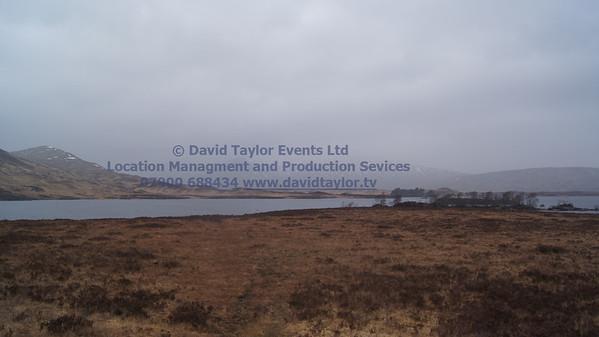Rannoch Moor Lochs