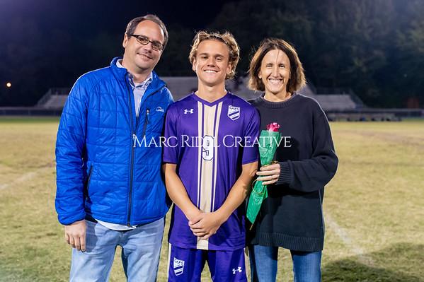 Broughton soccer senior night vs Leesville. October 21, 2019. D4S_8550