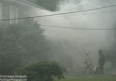 Structure Fire - 4 Windsor Ln, Greenwich, CT - 9/19/16