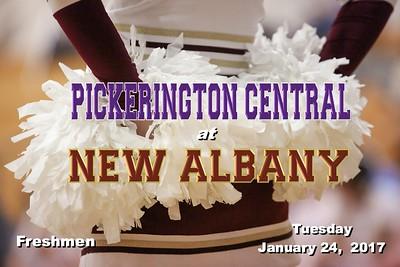 2017 FRESHMEN Pickerington Central at New Albany (01-24-17)