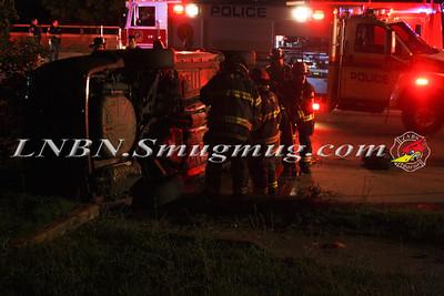Massapequa Overturned Auto Merrick Rd. at Alhambra Rd 8-10-11