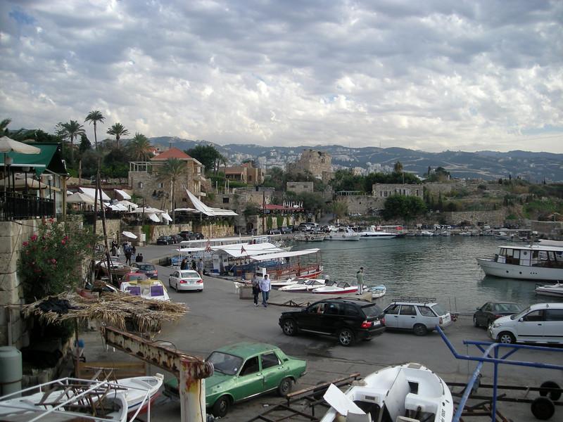old harbor at Byblos