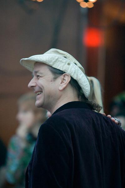 Terry at the Goblin Ball.