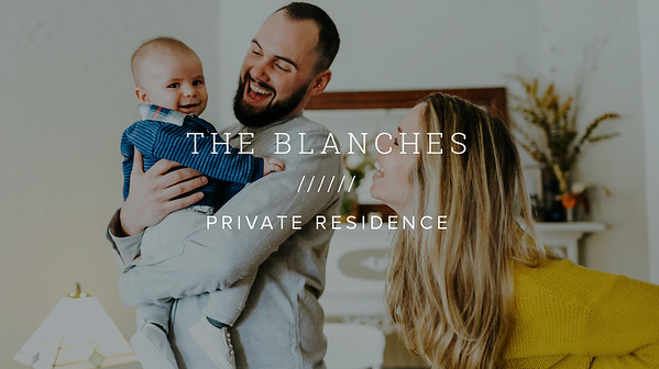 THE BLANCHES ////// PRIVATE RESIDENCE