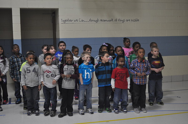 First Grade Program Nov. 2013