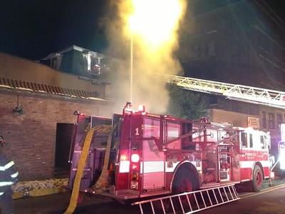 Structure Fire - 547 Worthington St, Springfield, MA - 1/16/15