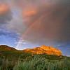 Rainbow<br /> <br /> Dinosaur Provincial Park, Alberta