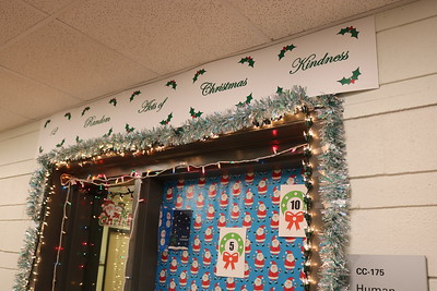 Keyano Christmas Door Decorating Contest