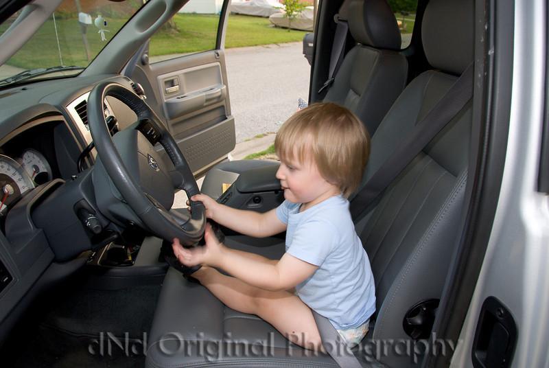 032 Ian & Brielle In Grandpa Dave's Truck.jpg