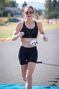 2015 Palouse Sprint Triathlon - Finish line