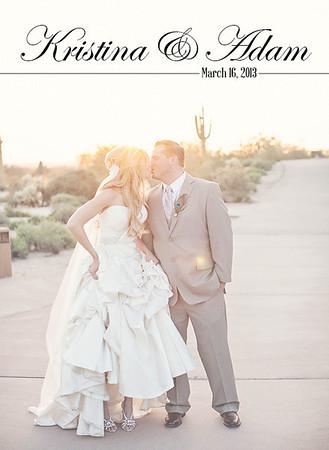 kristina and adam wedding album