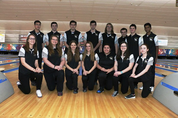 Jan. 17,2018 MTHS Bowling vs JPS at Woodbridge Lanes