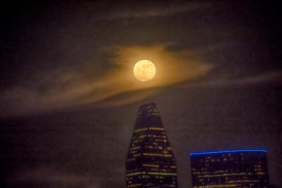 The Moon at Trinity Groves