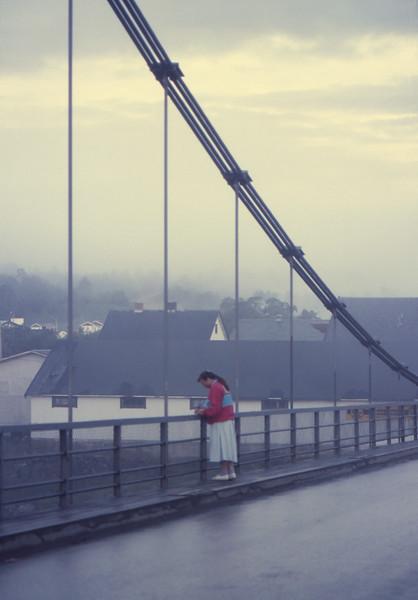 Karasjohka River Bridge - Karasjok, Norway - July 1989