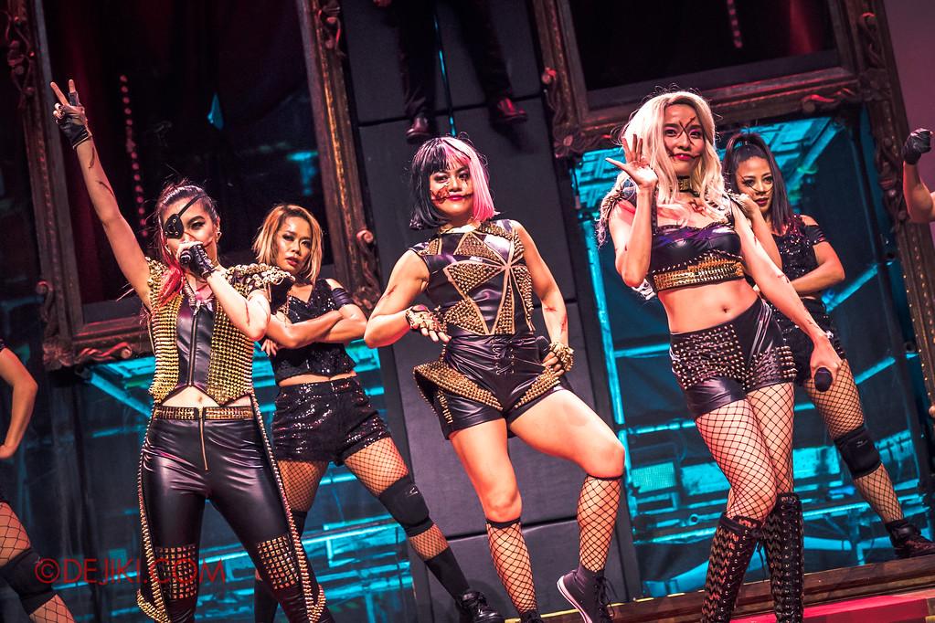 Halloween Horror Nights 7 - Slice of Life Tour live concert show / Goodbye