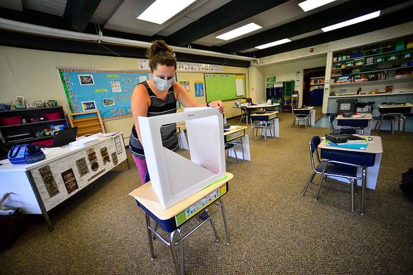 Dover School prepares to reopen - 081320