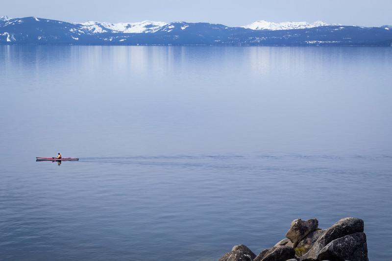 Lake Tahoe Kayaker