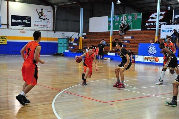 Hoops Academy vs Sydney City Cobras 7-11-15