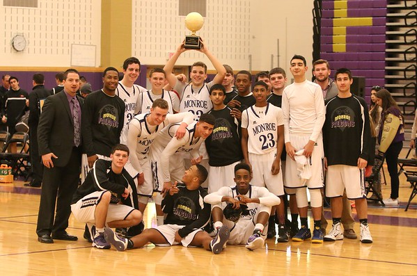 Boys won 1st Annual MTHS Holiday Tournament, vs Allentown, Dec. 29, 2014