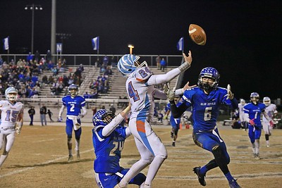 Fred T Foard Tigers @ Maiden Blue Devils 1st Rnd NCHSAA Playoffs 11-10-2017