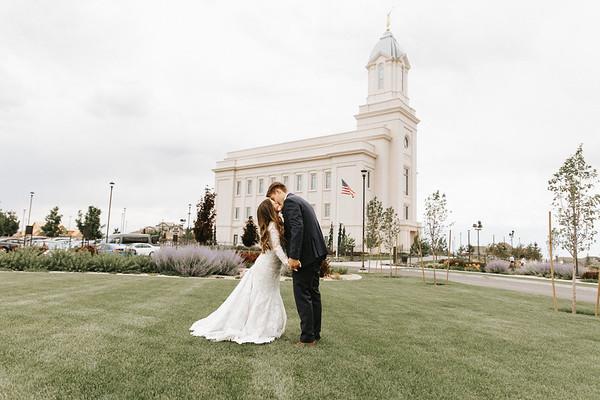 Hirschi wedding day