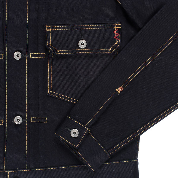 Indigo-Indigo 18oz Raw Selvedge Denim Type ll Jacket-26945.jpg