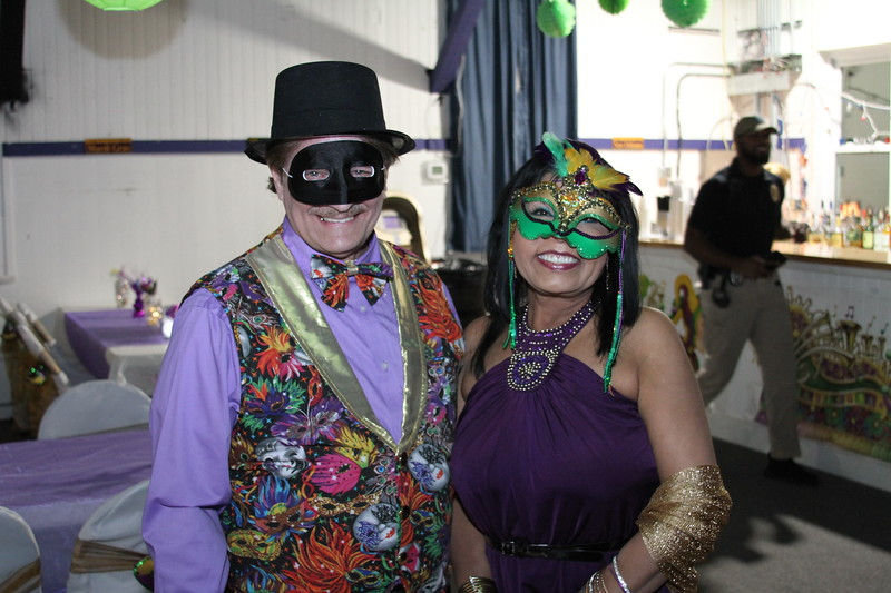 "Marti Gras ""Fur Ball"" on Tybee Island"